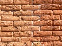 Vecchia parete del castello Fotografie Stock