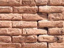 Vecchia parete del castello Fotografia Stock Libera da Diritti