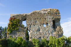Vecchia parete del castello Immagini Stock Libere da Diritti
