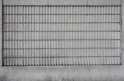 Vecchia parete del cemento Fotografia Stock