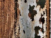Vecchia parete del ferro Fotografie Stock Libere da Diritti