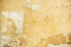 Vecchia parete del gesso fotografia stock
