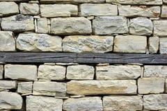 Vecchia parete del lavoro in pietra Fotografia Stock Libera da Diritti