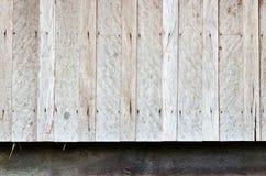 Vecchia parete del legno duro di casa molto vecchia Fotografia Stock Libera da Diritti
