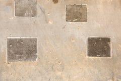 Vecchia parete dell'arenaria Fotografia Stock
