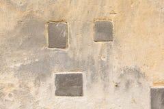 Vecchia parete dell'arenaria Immagini Stock Libere da Diritti