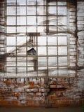 Vecchia parete della casa Fotografie Stock Libere da Diritti