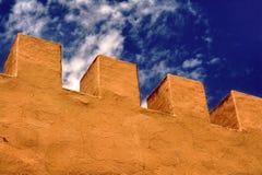 Vecchia parete della città Immagine Stock Libera da Diritti