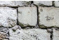 Vecchia parete della pietra bianca immagine stock libera da diritti