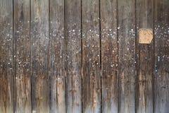 Vecchia parete delle plance, Immagine Stock Libera da Diritti