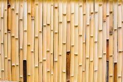 Vecchia parete di bambù Immagine Stock Libera da Diritti
