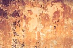 Vecchia parete di colore Immagine Stock