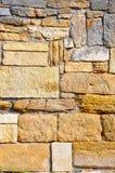 Vecchia parete di Correde Fotografia Stock
