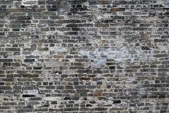 Vecchia parete di Grey And White Antique Brick fotografia stock libera da diritti