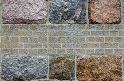 Vecchia parete di Kenigsberg Kaliningrad Fotografie Stock Libere da Diritti