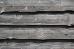 Vecchia parete di legno Fotografia Stock