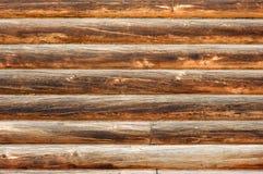 Vecchia parete di legno Fotografie Stock Libere da Diritti