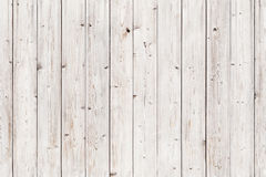 Vecchia parete di legno bianca Struttura senza giunte della priorità bassa Immagini Stock