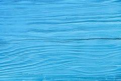 Vecchia parete di legno blu, struttura del primo piano fotografia stock libera da diritti