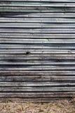 Vecchia parete di legno della plancia immagine stock libera da diritti