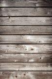 Vecchia parete di legno della plancia fotografia stock libera da diritti
