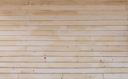 Vecchia parete di legno dipinta fotografia stock