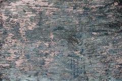 Vecchia parete di legno dipinta buccia Fotografie Stock
