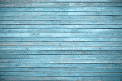 Vecchia parete di legno dipinta - struttura o fondo Fotografie Stock Libere da Diritti
