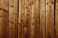vecchia parete di legno esposta all'aria Fotografia Stock Libera da Diritti