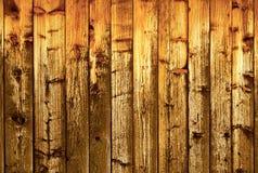Vecchia parete di legno esposta all'aria Fotografie Stock