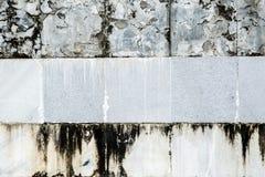 Vecchia parete di marmo Immagini Stock Libere da Diritti