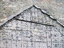 Vecchia parete di mattoni Fotografia Stock Libera da Diritti