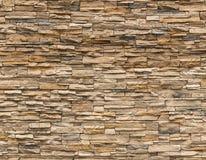 Vecchia parete di mattoni del Brown Fotografia Stock Libera da Diritti