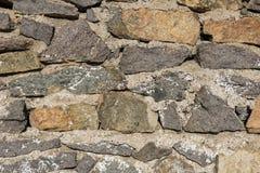 Vecchia parete di pietra fotografia stock libera da diritti
