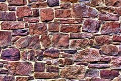 Vecchia parete di pietra Fotografie Stock