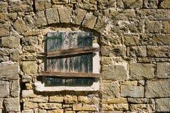 Vecchia parete di pietra Immagini Stock Libere da Diritti