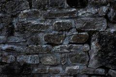 Vecchia parete di pietra del monastero Immagini Stock Libere da Diritti