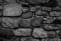Vecchia parete di pietra del monastero Immagini Stock