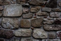 Vecchia parete di pietra del monastero Fotografia Stock Libera da Diritti