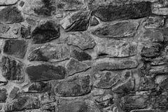 Vecchia parete di pietra del monastero Fotografie Stock
