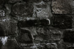Vecchia parete di pietra del monastero Fotografia Stock