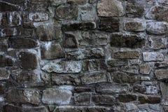 Vecchia parete di pietra del monastero Fotografie Stock Libere da Diritti