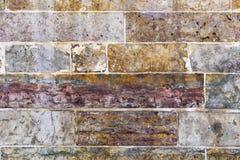 Vecchia parete di pietra Effetto d'annata immagine stock libera da diritti
