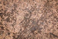 Vecchia parete di superficie del metallo arrugginito Fotografie Stock Libere da Diritti