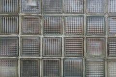 Vecchia parete di vetro Fotografia Stock Libera da Diritti