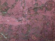 Vecchia, parete dipinta rosa fotografie stock libere da diritti