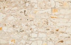 Vecchia parete grigia delle pietre Immagini Stock Libere da Diritti