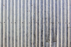Vecchia parete industriale del metallo Immagine Stock Libera da Diritti