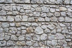Vecchia parete lapidata Fotografia Stock Libera da Diritti