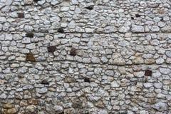 Vecchia parete lapidata Immagini Stock